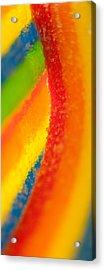 Rainbow Acrylic Print by Rebecca Skinner