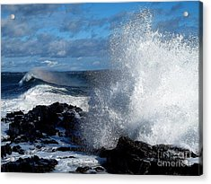 Rainbow Wave Acrylic Print by Donnie Freeman