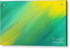 Raining Sunshine - Meteorologist - Meteorology Acrylic Print by Andee Design