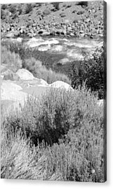 Rapids In White Mountains Acrylic Print by Harold E McCray