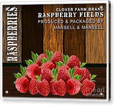 Raspberry Fields Forever Acrylic Print by Marvin Blaine