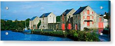 Rathmelton, Co Donegal, Ireland Acrylic Print by The Irish Image Collection