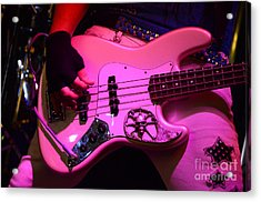 Raunchy Guitar Acrylic Print by Bob Christopher