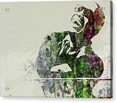 Ray Charles Acrylic Print by Naxart Studio