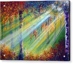Rays Acrylic Print by Ann Marie Bone