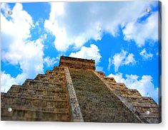 Reac For The Sky Acrylic Print by Jame Hayes