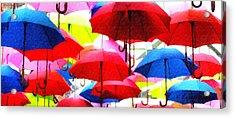 Ready For Rain Acrylic Print by Lynne Jenkins