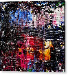 Real Artists Are Authentic Acrylic Print by Eckhard Besuden