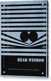 Rear Window Acrylic Print by Ayse Deniz