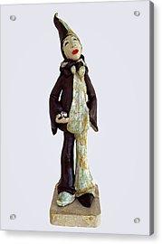 Recognizing The Meaning... Acrylic Print by Agnieszka Parys-Kozak