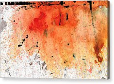 Red Abstract Art - Taking Chances - By Sharon Cummings Acrylic Print by Sharon Cummings