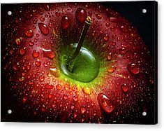 Red Apple Acrylic Print by Aida Ianeva