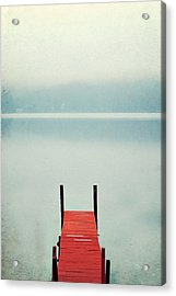 Red Acrylic Print by Carrie Ann Grippo-Pike