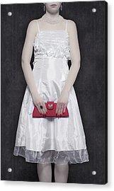 Red Handbag Acrylic Print by Joana Kruse