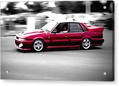 Red Holden Acrylic Print by Phil 'motography' Clark