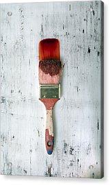 Red Paint Acrylic Print by Joana Kruse