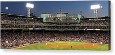Red Sox And Fenway Park  Acrylic Print by Juergen Roth