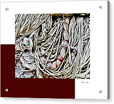 Redes 4 Acrylic Print by Xoanxo Cespon