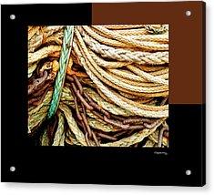 Redes 6 Acrylic Print by Xoanxo Cespon