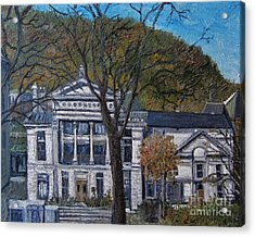 Redpath Museum Acrylic Print by Reb Frost