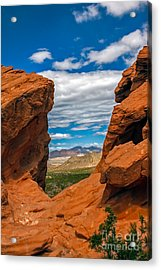 Redstone Acrylic Print by Robert Bales