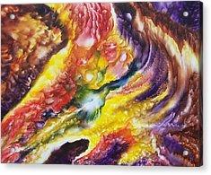 Reflecting Starlight Acrylic Print by Glenda Stevens