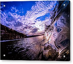 Reflection Acrylic Print by David Alexander