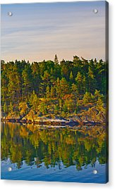 Reflections 2 Sweden Acrylic Print by Marianne Campolongo