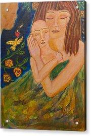 Reflections On Motherhood Acrylic Print by Havi Mandell