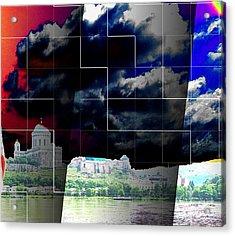 Refo Sky Acrylic Print by Yury Bashkin