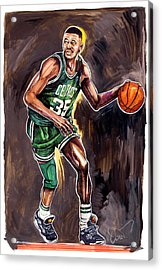 Reggie Lewis Twenty Years Gone By.... Acrylic Print by Dave Olsen