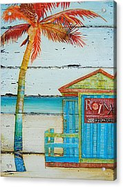 Relax No Working Acrylic Print by Danny Phillips