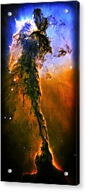 Release - Eagle Nebula 3 Acrylic Print by The  Vault - Jennifer Rondinelli Reilly