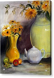 Reliable Loyalty Acrylic Print by Jane Autry