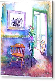 Remberence  Acrylic Print by Eleanor  Dixon Stecker