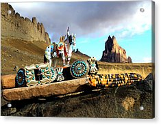 Remember When Acrylic Print by Chelsea Begay