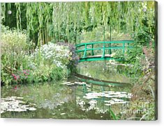 Remembering Monet  Acrylic Print by Olivier Le Queinec