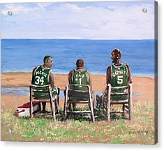 Reminiscing The Good Old Days Acrylic Print by Jack Skinner