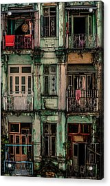 Remnants Of Another Era Acrylic Print by Marcus Blok