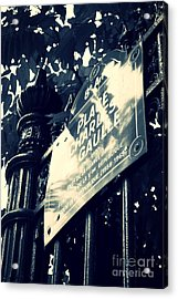 Rendezvous In Paris Acrylic Print by Carol Groenen