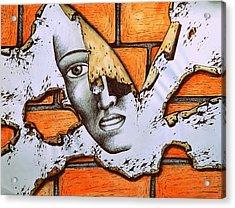 Repetitive Behaviors Of Self-sabotage Acrylic Print by Paulo Zerbato