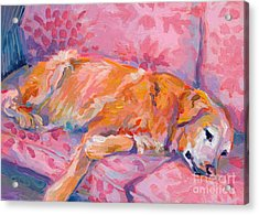 Repose Acrylic Print by Kimberly Santini