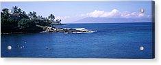 Resort At A Coast, Napili, Maui Acrylic Print by Panoramic Images
