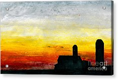 Rest For The Hard Working Acrylic Print by R Kyllo
