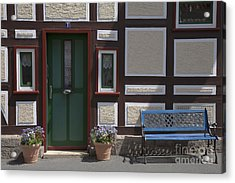 Resting Place Acrylic Print by Heiko Koehrer-Wagner