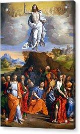 Resurrection  Acrylic Print by Munir Alawi