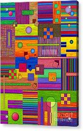 Retrospect Acrylic Print by David K Small