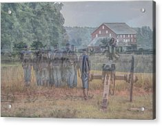 Return To Gettysburg Acrylic Print by Randy Steele