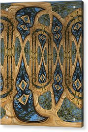 Return To Norwegian Wood Acrylic Print by Wendy J St Christopher