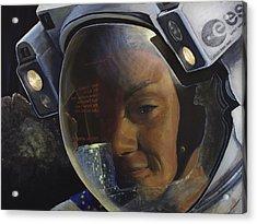 Return To Philae Acrylic Print by Simon Kregar